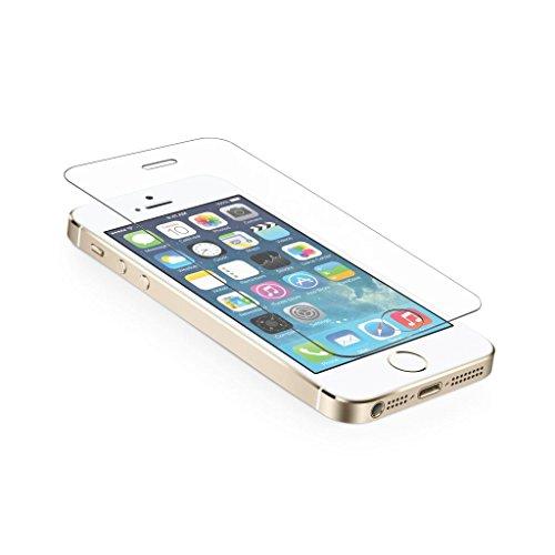 """Preisvergleich Produktbild Neue Qualität Iphone 5 / 5S / 5C """"Anti-Explosion"""" ausgeglichenes Glas Crystal Clear Displayschutzfolie für iPhone 5 / 5S"""