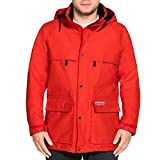 Jack Wolfskin Herren Rainy Days Men Jacke (S, Fiery Red)