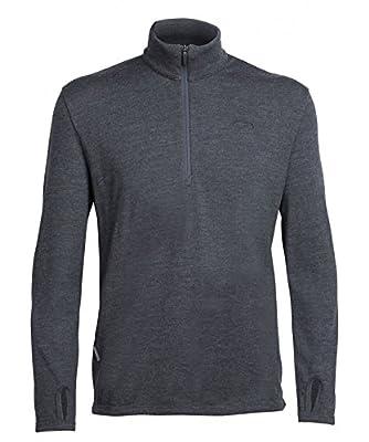 Icebreaker Herren Original Ls Half Zip Pullover