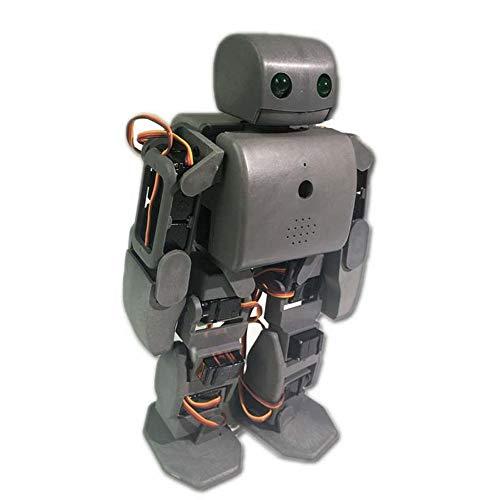 KKmoon 18 DOF Intelligent Robot Toy Modell Humanoid Spielzeug Wissenschaft Kits für Kinder Pädagogisches Robot, ViVi Humanoid Robot Plen2 für Arduino 3D Drucker