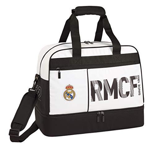 Juventud Unisex TU Safta 711954273 Real Madrid 19//20 Bolsa dep//Viaje 40x24 Varios