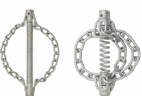 KS Tools 900.2283 Kettenschleuderkopf mit glatter Kette, 2 Ketten Ø45mm,22mm
