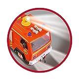Simba 109251036 - Sam Jupiter Feuerwehrauto 2.0 / Mit Sam und Elvis Figur / mit Licht und Sound / Mit ausfahrbarer Leiter und Suchscheinwerfer / 28cm Vergleich