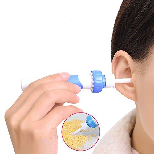 funwwll Ohr Reiniger Wachs Elektrische Massage Haarentfernungs-Set Soft-Ohr von ear-pick reinigen...