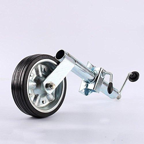 Cusco Jockey Rueda con Abrazadera de Metal para Remolque Caravana Transportador con Recubrimiento de Zinc (48mm 400kg)