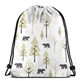 """If You Are Looking For A Durable, Comfortable, And Stylish Gym Bag For Your Active Lifestyle.Then Our Sport Drawstring Gym Bag Would Be An Awesome Choice!Dimensions: 14""""(W) X 16.9""""(H)Fashion Printed Style, A Convenient Choice For Your Every Day Activ..."""