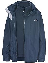 Kids Trespass Skydive 3in1 Jacket With Detachable Fleece
