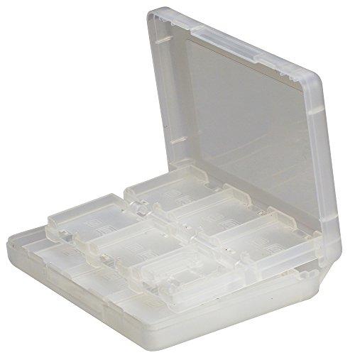 BYD-NDS Cartuchos de Juegos Flash Tarjetas de Cajas Accesorios Decorativos para Game Cases 26 in 1 Cubierta Protectora Case Map Pack 3DSll Plástico Duro Cristalino para Nintendo NDSL / NDS / NDSi / 3DS / 3DS XL / 3DSLL Nuevo-Blanco