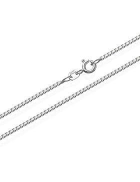 NKlaus echte 925er Sterlingsilber Venezianerkette Silberkette 1,40mm breit