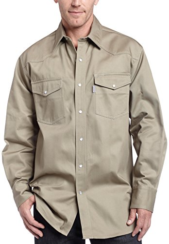 Carhartt Herren Button-Down Shirt, L, Khaki, 1