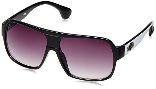 Idee Gradient Square Men's Sunglasses - (IDS1609C2SG|58|BLACK Gradient lens) image