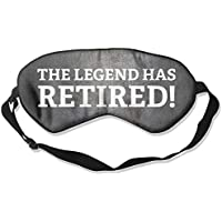 The Legend Has Retired 99% Eyeshade Blinders Sleeping Eye Patch Eye Mask Blindfold For Travel Insomnia Meditation preisvergleich bei billige-tabletten.eu