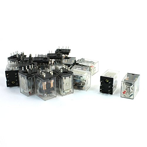 20Stück Rot Kontrollleuchte AC 110/120V Power Relay DPDT 2NO 2NC HH52P 120vac Power Relay