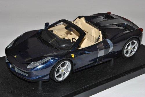 Ferrari 458 Spider Blau Ab 2009 1/18 Mattel Hot Wheels Modell Auto