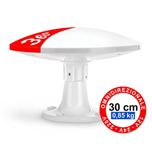 Antena Omnidireccional Terrestre Exterior - 4G LTE