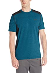 Under Armour UA RAID SS - Camiseta de manga corta para Hombre, color Azul (Peacock), talla M