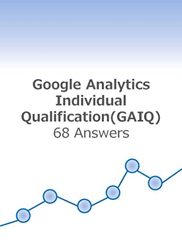 GAIQ 68 asessment answers: Google analytics individual qualification (GAIQ) (English Edition)