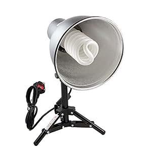 PhotoSEL LS12E41T Tabletop Studio Lighting Kit - 1 x 55W 3000lm 5500K 90+ CRI