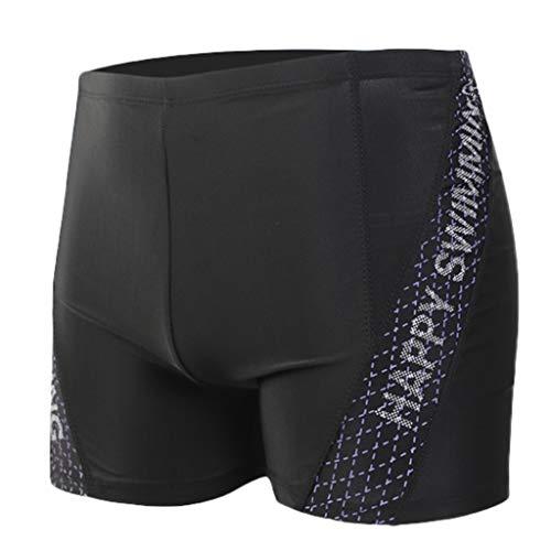 Amuster uomo di costume da bagno pantaloni mutandine per imbragatura incorporate in nylon traspirante sexy stampato