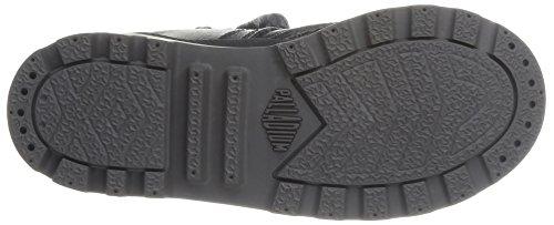 Palladium Baggy Mtl K, Boots mixte enfant Noir (315/Black)