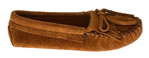 MinnetonkaKilty Suede Moc 102 - Mocassini donna Marrone (BrownBrown)