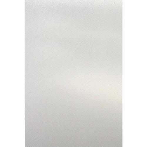 VASEN Vinilo Ventana Electroestatico Ventana Pegatina Decorativos Estampado Protector Privacidad Ventana Película NON-Adhesivo Autoadhesivo Anti UV(Traslúcido Blanco)(60_x_200_cm)