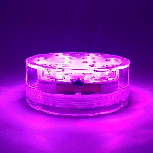 PowerBH Shisha LED Lichter Tauchen Infrarot Fernbedienung Vase Lichter Batterie Power Lichter Schwimmbad Teich Wasserdichte Farblichter