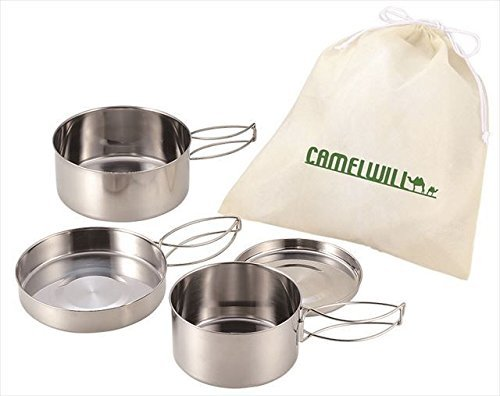 camping-pot-set-with-bag-2-pots-2-frypans-2-lids-1-bag-kakusee-cw-300-from-japan