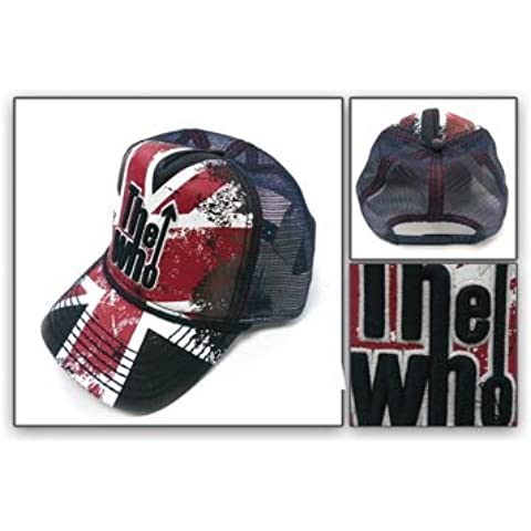 The Who Vintage Wash oficial Trucker Cap