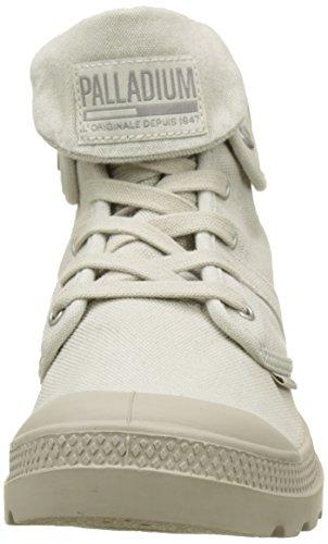 Palladium Herren Pallabrousse Baggy Hohe Sneaker Grau (Rainy Day/string K82)