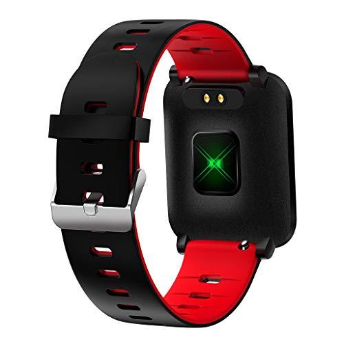 Altsommer Bluetooth Smart Watch Fitness Tracker, Aktivitäts Kalorie Tracker Pulsmesser SMS & SNS Erinnerung Tacking Sport Schrittzähler mit iOS Android SmartWatch IP67 Waterproof für Männer, Frauen (Schwimmer Fitness-tracker)