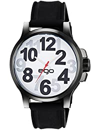 Ego by Maxima Analog White Dial Men's Watch - E-01173PAGB
