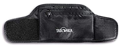 Wertsachen Armband (Tatonka Geldaufbewahrung Skin Wrist Wallet black, 26 x 8 cm)