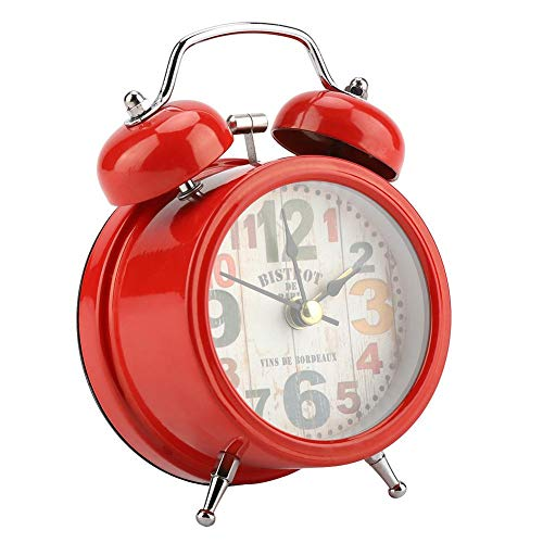 Garosa Reloj Alarma Digital Campana Centelleante Portátil