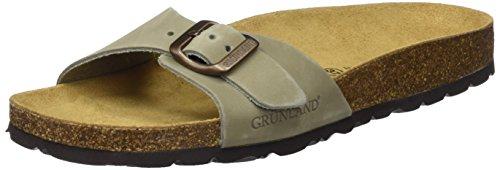 GRUNLAND Sara, Zapatos de Playa y Piscina para Mujer, Azul (Ottanio OTTA), 36 EU