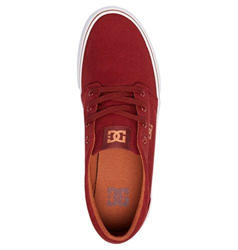 DC Shoes Herren Trase TX Sneaker Rot (Burgundy Bur)