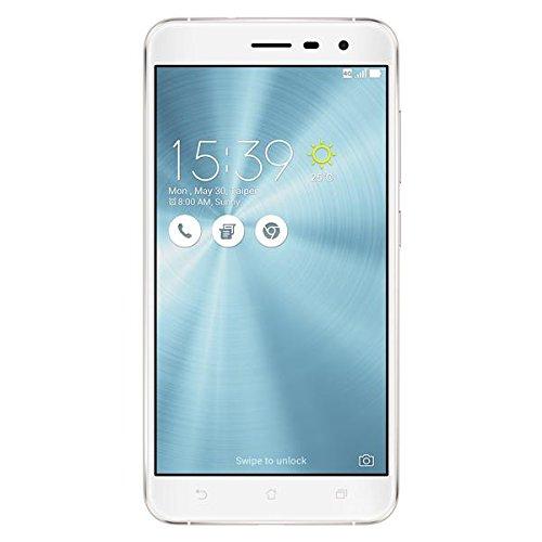 ASUS ZE552KL-1B002WW ZenFone 3, 13,97 cm (5,5 Zoll) (1920x1080 Pixels, Qualcomm Snapdragon, 625, Internal RAM 4GB, 64GB, microSD, Dual/Nano-SIM, 3G/4G, 16MP Kamera, Android, 6.0, 3000mAh) weiß