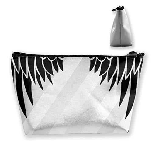 Angel Wings Tixing Trapez Reise-Make-up-Tasche Kosmetiktaschen 7x12x22CM (Verschiedene Arten Von Angel Wings)