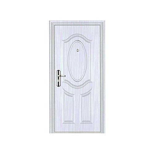 Porta di metallo, Portone Metallico/Blindato in Acciaio per interno modello Ady B49QC 203 x 90 (Porta In Acciaio Inox Battenti)