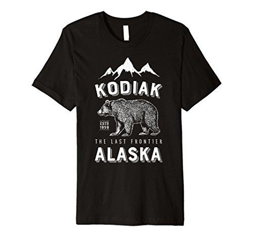 Kodiak Alaska T Shirt BEAR The Last Frontier Bears Vintage