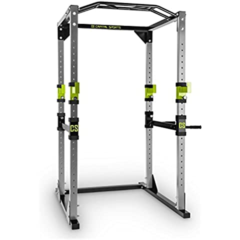 Capital Sports Tremendour Power Rack stazione allenamento (2 safety spotter,