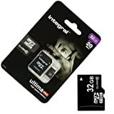 Acce2s - Carte Mémoire Micro SD 32 Go classe 10 pour WIKO Harry - Tommy 2 - Freddy - Tommy - Robby - Sunny - Jerry - Selfy - Jimmy - Birdy - Barry