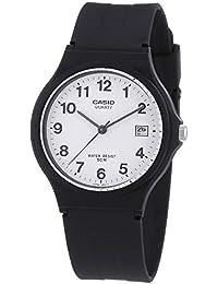Casio Classic MW-59-7BVDF, Reloj Analógico de Cuarzo con Correa de Resin para Mujer, Negro