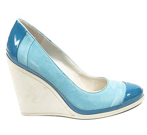 NINE WEST - Donna Cuneo Pumps Col Tacco NWDIDI BLUE BLUE Tacco: 10 cm Azzurro