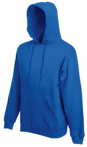 Fruit of the Loom - Kapuzen-Sweatshirt 'Hooded Sweat' M,Royal (Blau Hoodie)