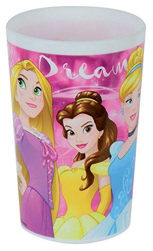 Unbekannt Fun House 005465Disney Prinzessinnen Glas für Kinder Polypropylen Rosa 10x 0,025x 6,5cm