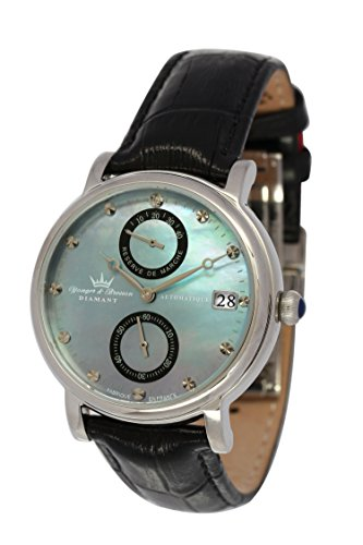 Yonger & Bresson – YBD 8521-01 Vs Largentière – Analogue – Automatic – blue dial – Black Leather Strap Ladies Watch
