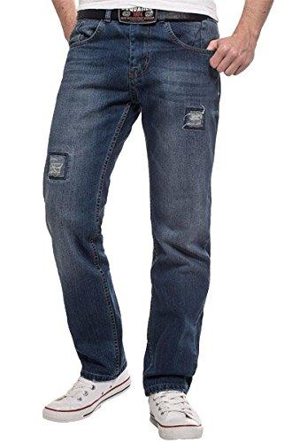 Rock Creek Lorenzo Loren Herren Jeans Clubwear LL-2518 W33 L34 Original Arizona Jean