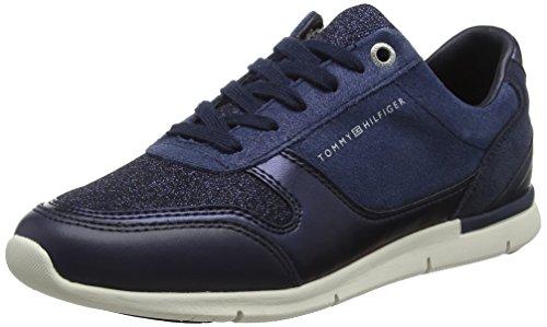 3965b279069e Tommy Hilfiger Sparkle Light Sneaker, Zapatillas para Mujer, Azul (Tommy  Navy 406)