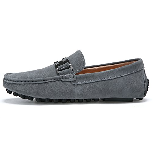 Männer Loafers Echte Leder Mode Fahr Schuhe Hochwertige Moccasin Bootsschuhe Kausale Wohnungen
